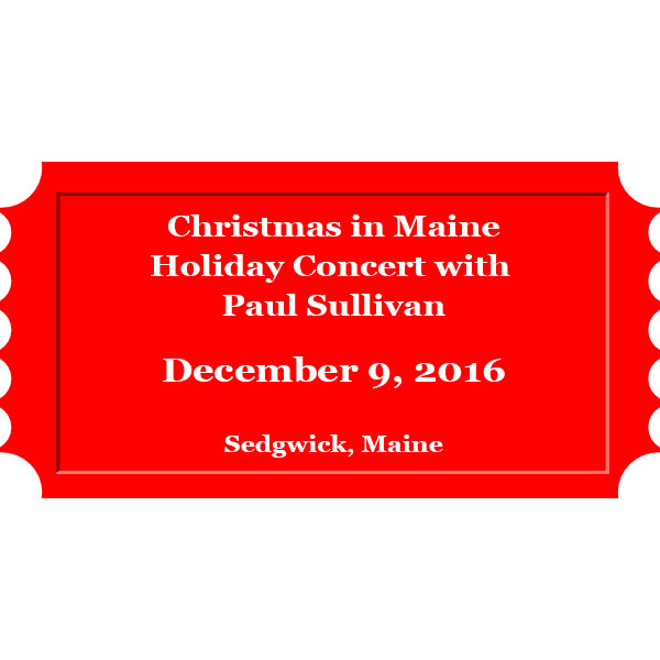 Holiday concert with Paul Sullivan