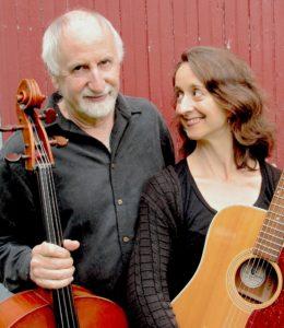 Elizabeth Rogers and Eugene Friesen