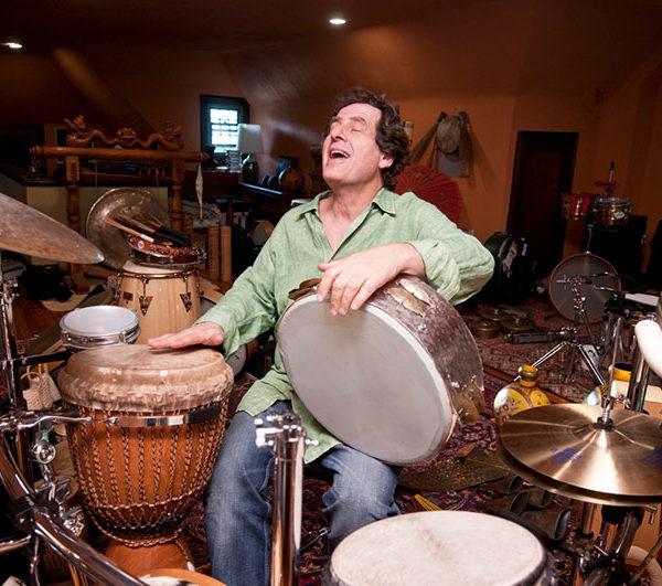 Percussionist Jamey Haddad