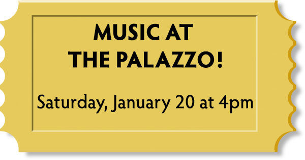 Music at the Palazzo!